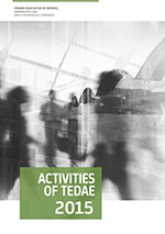 Activities of TEDAE 2015
